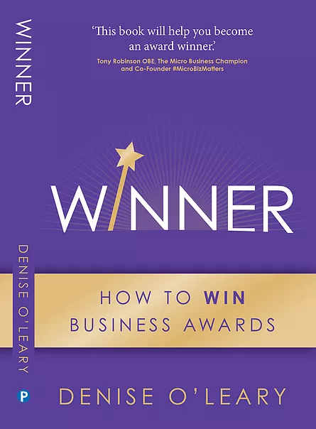 Winner, how to win business awards